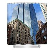 Boston Ma Architecture Shower Curtain