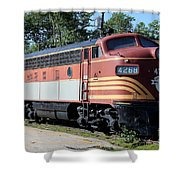 Boston - Maine No 4268 Shower Curtain