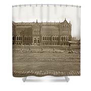 Boston Museum Of Fine Art On Copley Square Massachusetts Circa 1900 Shower Curtain