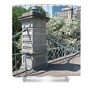 Public Garden - Boston Massachusetts Shower Curtain