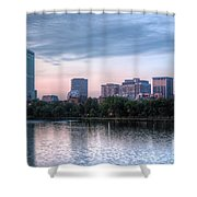 Boston Skyline IIi Shower Curtain