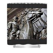 Robert Gould Shaw Memorial Shower Curtain