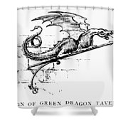 Boston: Tavern Sign Shower Curtain