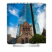 Boston Trinity Church Shower Curtain