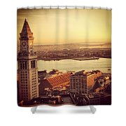 Boston's Custom House Shower Curtain