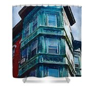 Boston's North End Shower Curtain