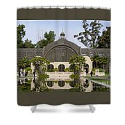 Botanical Building Shower Curtain