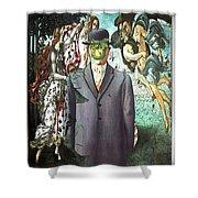 Botticelli Son-of-man 1  Shower Curtain