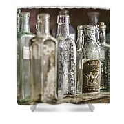 Bottle Collection Shower Curtain