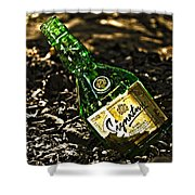 Signature Whiskey Shower Curtain