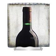 Bottle Of Bordeaux Shower Curtain