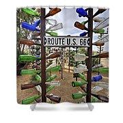 Bottle Ranch  Shower Curtain