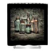 Bottles II Shower Curtain