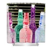 Bottles Up - Photopower 295 Shower Curtain