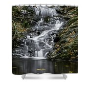 Bottom Half Of Tannery Falls Shower Curtain