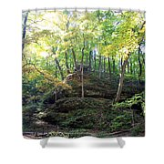 Bottom Of Devil's Punchbowl Wildcat Den Shower Curtain