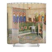 Boudoir, From A Villa In Helsinki Shower Curtain