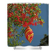 Boughs Of Holly Shower Curtain