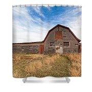 Boulder Barn Shower Curtain