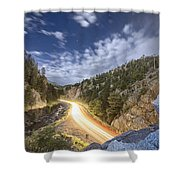 Boulder Canyon Dream Shower Curtain