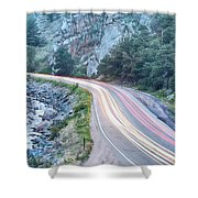 Boulder Canyon Drive And Commute Shower Curtain