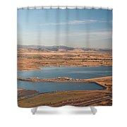 Boulder, Co, Boulder Reservoir Shower Curtain