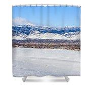 Boulder Colorado Shower Curtain
