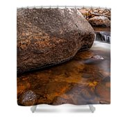 Boulder Shower Curtain