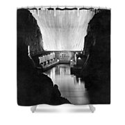 Boulder Dam Shower Curtain