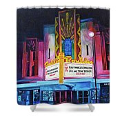 Boulder Theater Shower Curtain