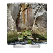 Boulders By The River 2 Shower Curtain