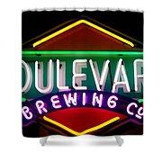 Boulevard Brewing Shower Curtain