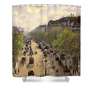 Boulevard Montmarte Shower Curtain
