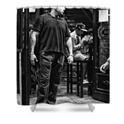 Bouncer Shower Curtain