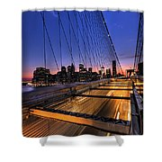 Bound For Greatness Shower Curtain by Evelina Kremsdorf