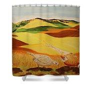 Bountiful Palouse Shower Curtain