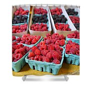 Bounty Of Berries Shower Curtain