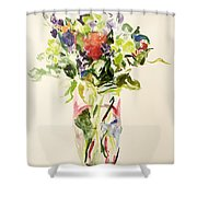 Bouquet  Shower Curtain by Julie Held