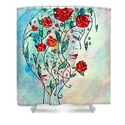 Bouquet Of Love Shower Curtain