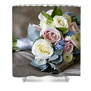 Bouquet Of Spring Flowers Shower Curtain