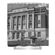 Bourbon County Courthouse 3 Shower Curtain