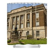 Bourbon County Courthouse 4 Shower Curtain
