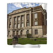 Bourbon County Courthouse 5 Shower Curtain