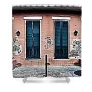 Bourbon Street Doors Shower Curtain