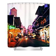 Bourbon Street Early Evening Shower Curtain