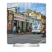 Bourbon Street - Let The Party Begin Shower Curtain