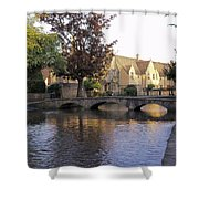 Bourton On The Water 5 Shower Curtain