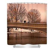 Bow Bridge Panorama Shower Curtain