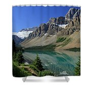Bow Lake 2 Shower Curtain