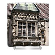 Bowfront City Hall Wroclaw Shower Curtain